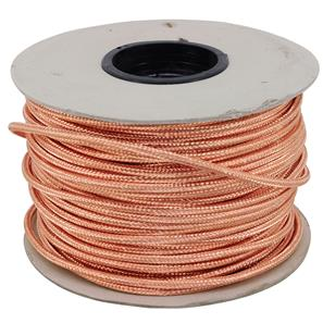 Braided Copper Round Flex 100M 0.75mm� Copper