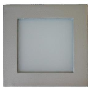 Aqua Square Internal 240V Silver / Frosted Glass Blue