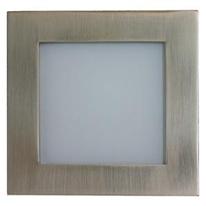Aqua Square Internal 240V Nickel / Frosted Glass Blue