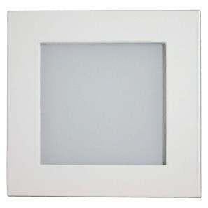Aqua Square Internal 240V White / Frosted Glass Blue