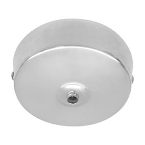 Dome Ceiling Rose Chrome 92mm