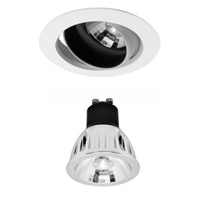 Elegant Adjustable Downlight LED Reality Retro GU10 Warm White (3000K) 5W (=50W) 60°