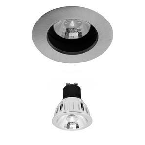 Elegant Fixed LED Reality Retro GU10 Warm White (3000K) 5W (=50W) 60°