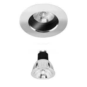 Elegant Fixed IP54 LED Reality Retro GU10 Warm White (3000K) 5W (=50W) 60°