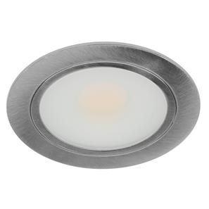 LED Cabinet Downlight 3W Stainless Steel