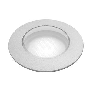 Terra 42 LED Anodised Aluminium Bathroom Uplight  3000K Warm White 3W