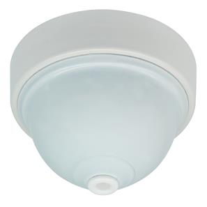 Plain Ceiling Rose White Aluminium / Plastic