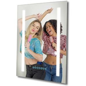 Bathroom LED Audio Mirror Glass