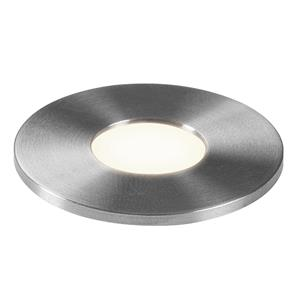 Terra 28 LED Stainless Steel Bathroom Uplight  3000K Warm White 1W