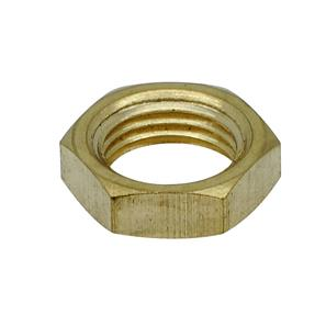 4mm Brass Locknut Brass 10mm