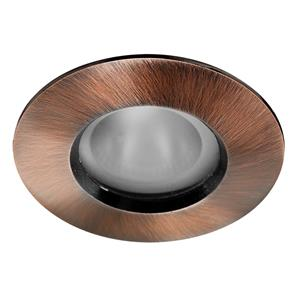 Fixed 35 Frosted Downlighter Bathroom 240V 35W Bronze
