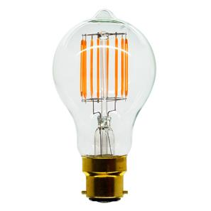 LED Carbon Filament Lamp Squirrel Cage GLS 60mm BC 6W (=60W)