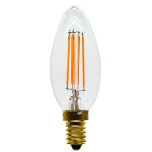 LED Carbon Filament Lamp Squirrel Cage Candle 35mm 2100K SES 4W (=40W)