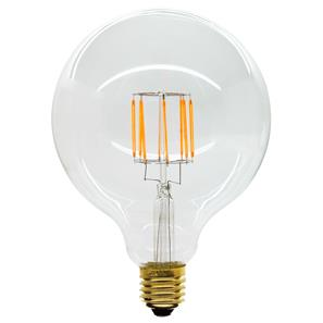 LED Carbon Filament Lamp Squirrel Cage Globe G125 125mm Dimmable ES 8W (=80W)