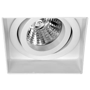 Trimless Square Fire Rated Adjustable 12V White 50W
