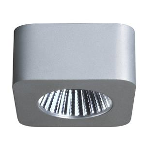 Samos Square LED Cabinet Light 240V 5W Silver