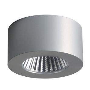 Samos Round LED Cabinet Light 240V 5W Silver