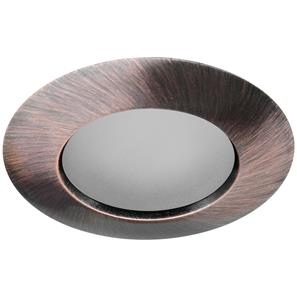 Fixed Downlighter Baffle Bathroom 240V 50W Bronze