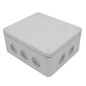Waterproof Junction Box (160mm) 10 Way Grey