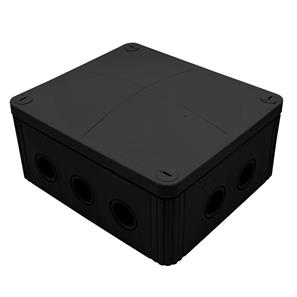 Waterproof Junction Box (160mm) 10 Way Black