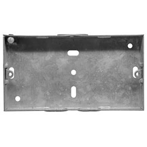 Double Plate Back Box Metal 16mm