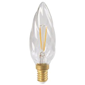LED Twisted Candle Lamp E14 TW 3W 2700K Warm White