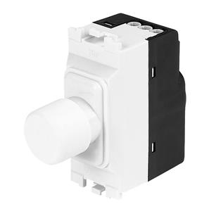 1-Gang Dimmer Switch Low Voltage White 220W