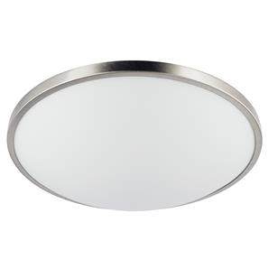 Slim Round Large ES 240V Nickel 2 x 60W
