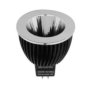 MR16 LED & Driver 9W 800lm (=100W) Pro Reality CRI 93 Narrow Beam Dimmable 10° 3000K Warm White