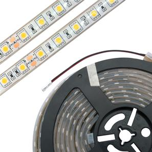 LED Tape Ultra Waterproof IP68 5m (60xSMD 5050 LEDs/m) 24V 72W (1m=14.4W) Warm White 3000K