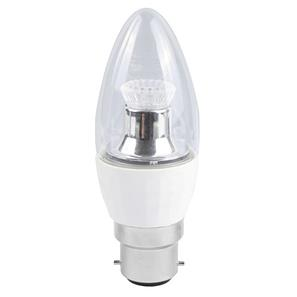 LED Candle Lamp BC / B22 4W 2700K Warm White