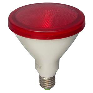 LED PAR38 External Lamp ES 15W (=120W) Red