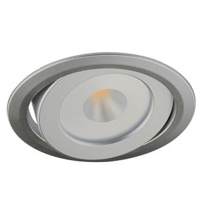 LED Diva 2 Adjustable Spot 3000K Warm White 60° 24V 4.2W Silver
