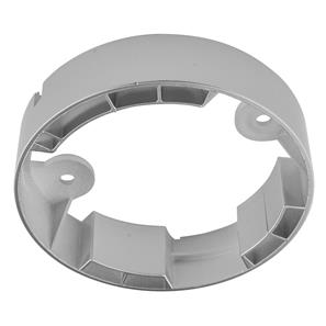 LED Diva 2 Spot Ring Bracket Plastic Silver
