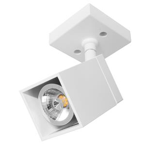 White Short Cube Spotlight  35W White