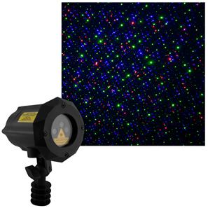 X Firefly Moving RGB Laser Garden Special Effect Spike Light RGB 12V