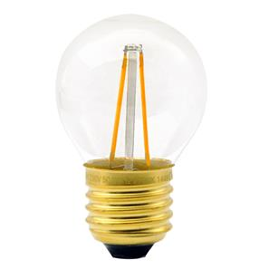 LED Carbon Filament G45 Clear Warm White 3W    3W (=30W)