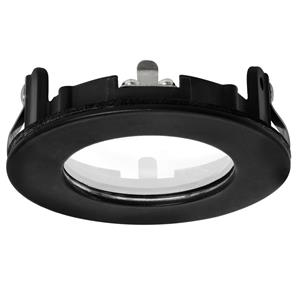 Trimless IP55 Conversion Ring Black 50mm