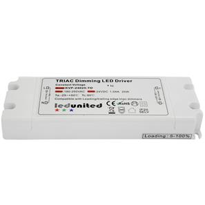 Triac LED Dimming Driver  25W 24V (Constant Voltage)