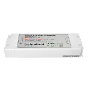 Triac LED Dimming Driver  25W 12V (Constant Voltage)