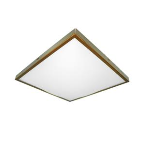 Slim Square 2D 240V Bronze 16W
