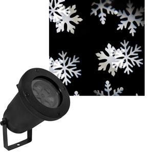 X Firefly LED Garden Snowflake Effect Spike Light Projector