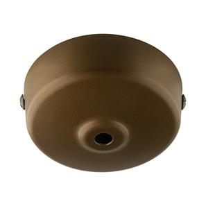 Dome Ceiling Rose Bronze 92mm