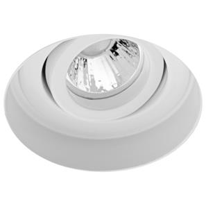 Trimless Round Fire Rated Adjustable GU11 240V White
