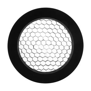Tube Integrated LED Honeycomb Baffle Black