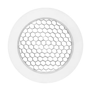 Tube Integrated LED Honeycomb Baffle White