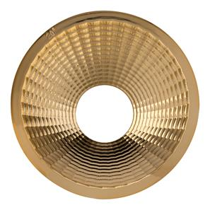 Tube Integrated LED Reflector Gold 20 Degrees