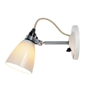 Hector Small Dome Wall Light Switched, by Original BTC 40W White