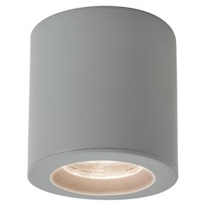 KOS Surface Mounted Downlight GU10 6W Silver