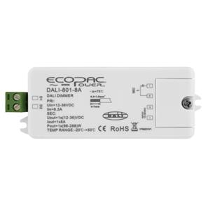 Dali-CV LED Interface Dimmable Driver (Constant Voltage) White 12V (96W) / 24V (192W)
